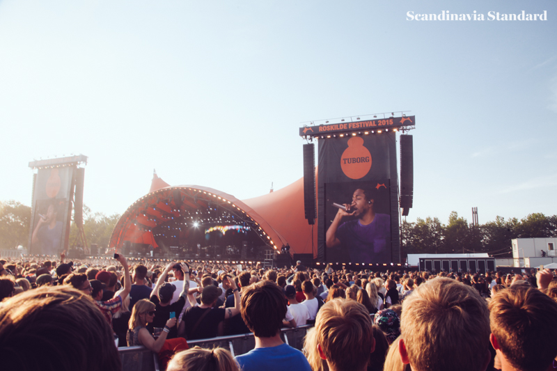 Kendrik Lamar at Orange Stage - Roskilde Festival | Scandinavia Standard