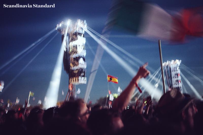 Muse Lights at Roskilde Festival | Scandinavia Standard