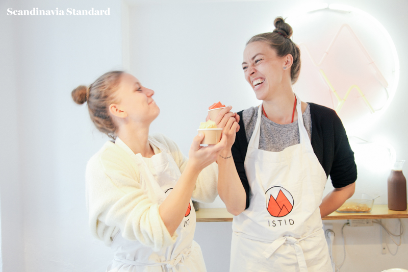 Nina and Anniken owners at Istid Copenhagen - Nitrogen Icecream | Scandinavia Standard