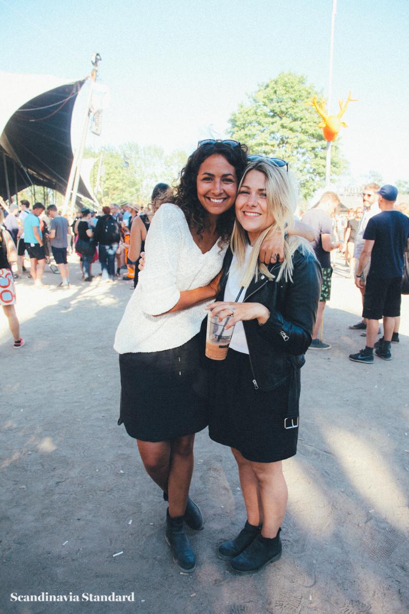 People at Roskile Festival - Girls | Scandinavia Standard