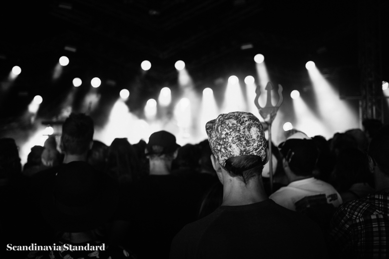 Perfume Genius B&W Devil in Crowd at Roskilde Festival | Scandinavia Standard