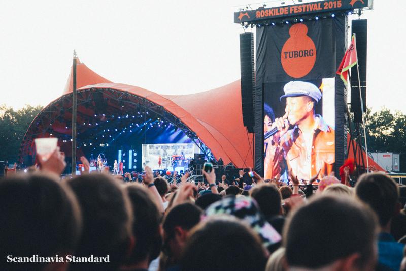 Pharrell Williams Close Up - Roskilde Festival | Scandinavia Standard