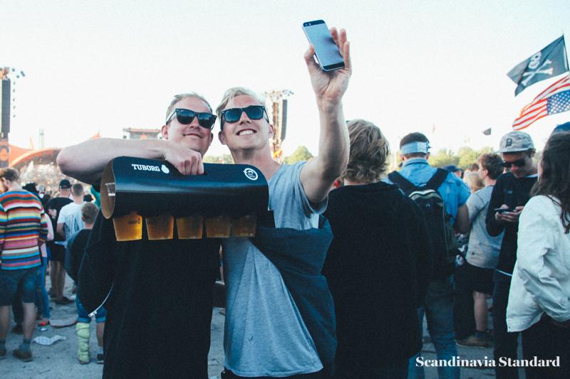 Roskilde Crowds with Beer | Scandinavia Standard