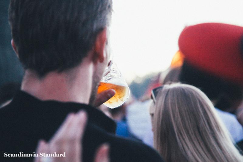 Roskilde Festival Crowds Drinking Beer | Scandinavia Standard