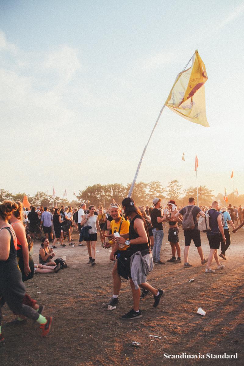Roskilde Festival Flag Walkers | Scandinavia Standard