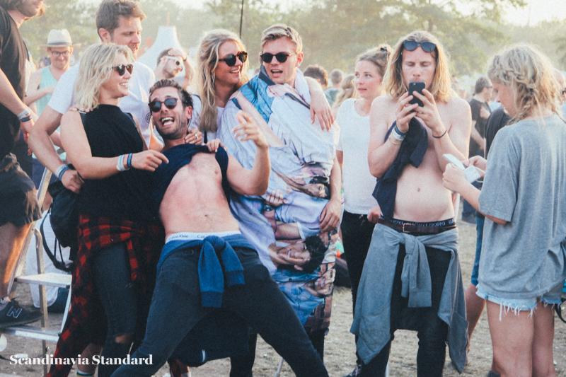 Roskilde Festival Group Shot | Scandinavia Standard