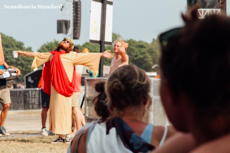Roskilde Festival Jesus | Scandinavia Standard