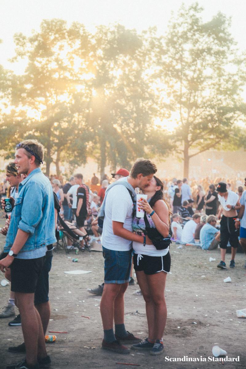 Roskilde Festival Kiss | Scandinavia Standard