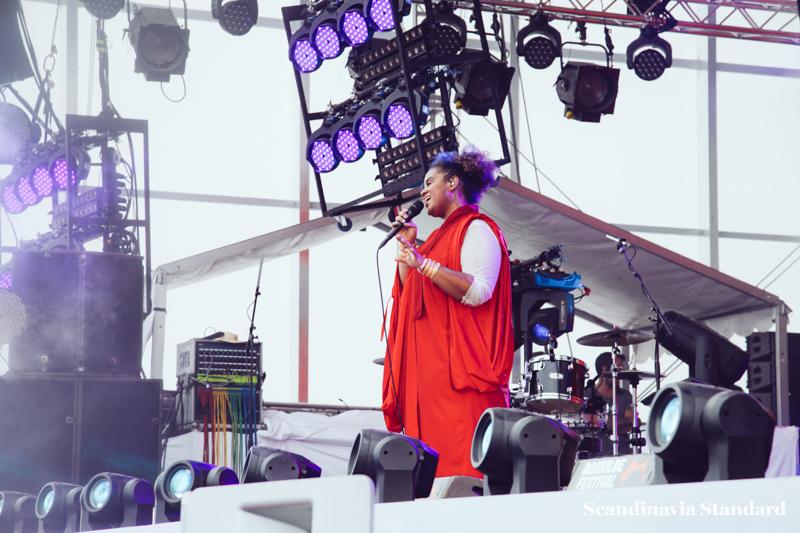 Seinabo Sey at Roskilde Festival | Scandinavia Standard