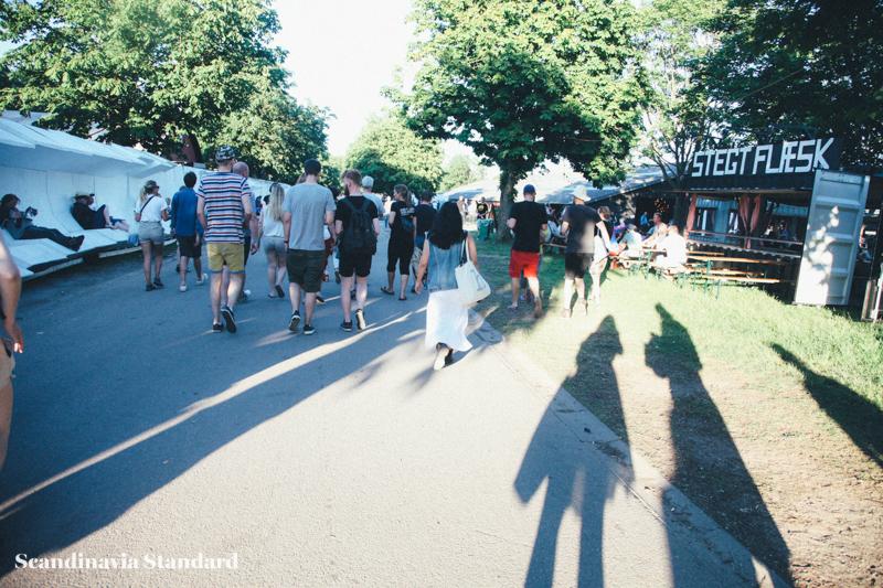 Walking in Roskilde Festival | Scandinavia Standard