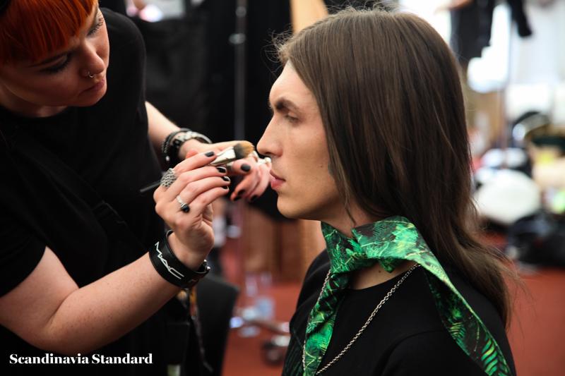 Asger Juel Larsen Look 3 Copenhagen Fashion Week Beauty | Scandinavia Standard