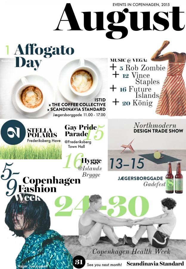 August 2015 Event Calendar | Scandinavia Standard