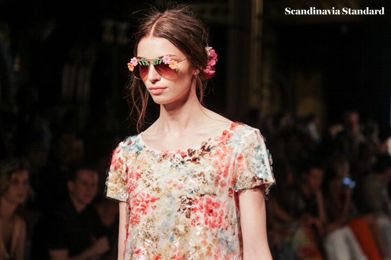 Ida Sjostedt Runway Glasses SS16 - Stockholm Fashion Week | Scandinavia Standard