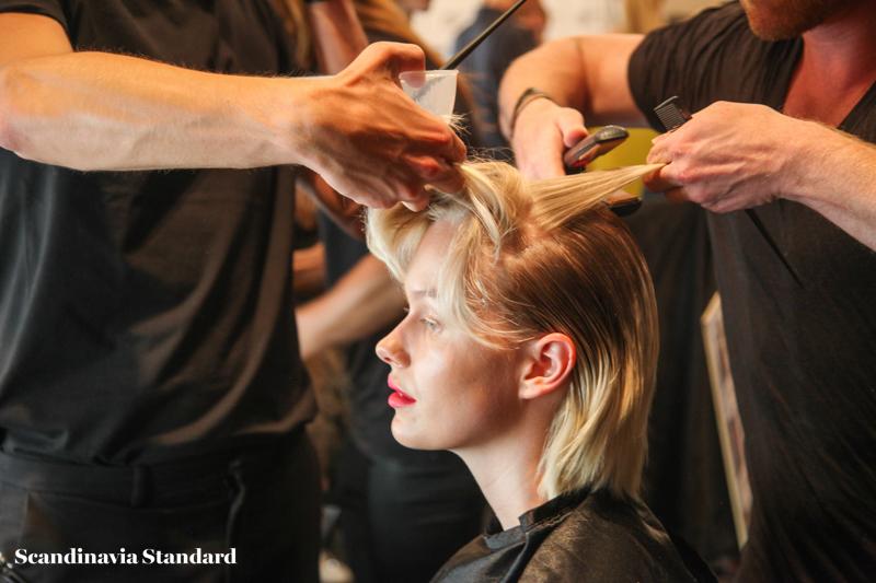 Lala Berlin Beauty Look 1 Copenhagen Fashion Week | Scandinavia Standard
