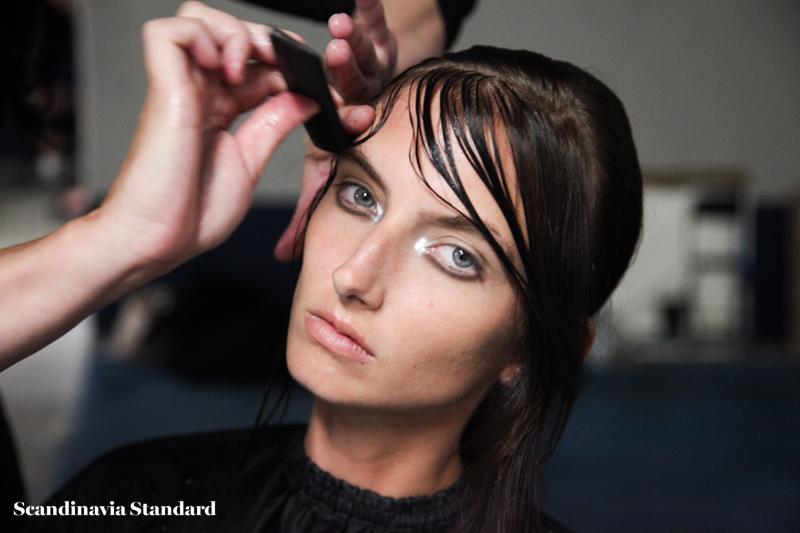 Maikel Tawadros Beauty Look 1 Copenhagen Fashion Week | Scandinavia Standard