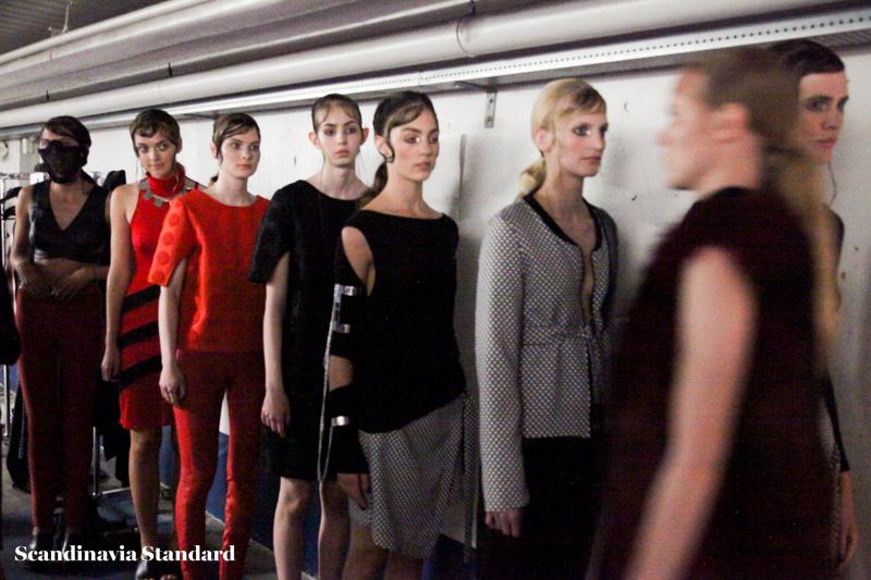 Maikel Tawadros Beauty Look 2 Copenhagen Fashion Week | Scandinavia Standard