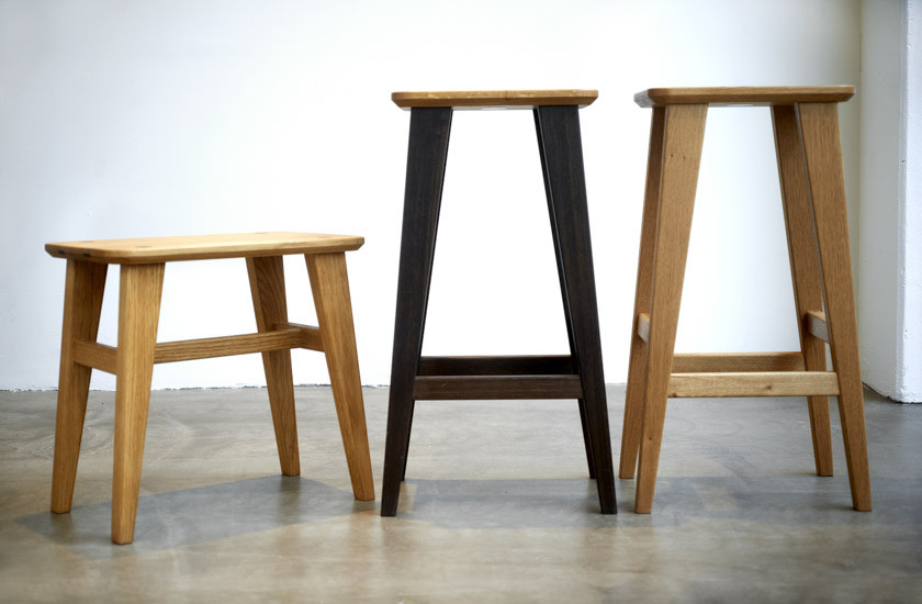 Plain Crafts by Søren Ulrich Stools and Chairs at northmodern Danish Design Fair | Scandinavia Standard
