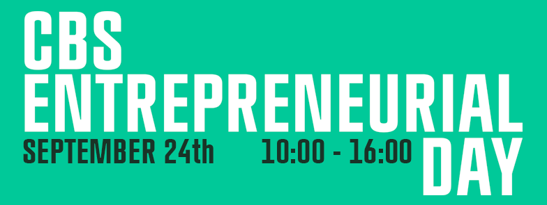 CBS ENTREPRENEUR DAY - Sept 2015 - Whats on Copenhagen