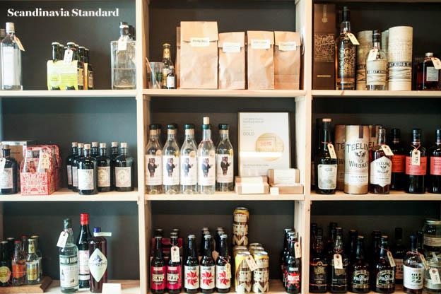 Den Sidste Dråbe Shelves in Copenhagen | Scandinavia Standard