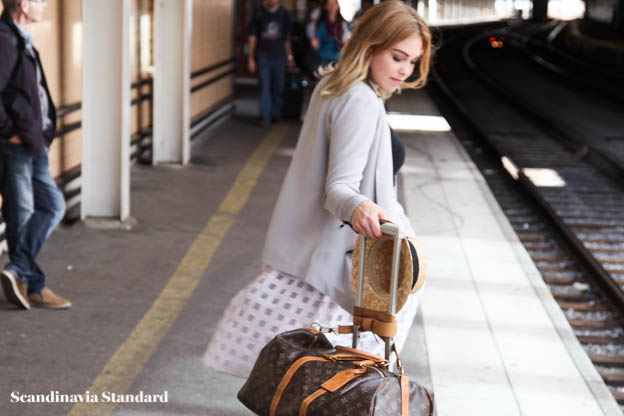Freya McOmish in Hofmann - Stockholm Fashion Week | Scandinavia Standard