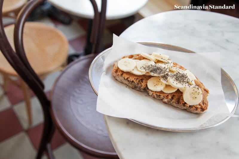 Pom & Flora Chai, Peanut Butter and Banana in Stockholm | Scandinavia Standard