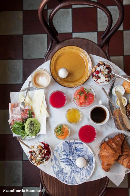 Pom & Flora Table Breakfast Brunch in Stockholm | Scandinavia Standard