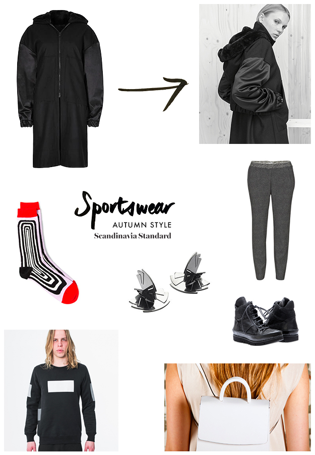 Autum Coat Sportswear Infographic | Scandinavia Standard