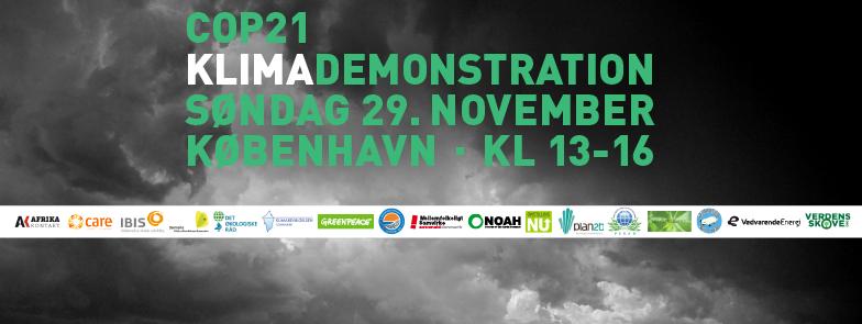 CLIMATE CHANGE DEMO - Nov 2015 - Whats on Copenhagen