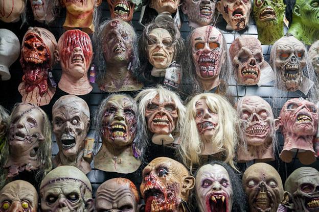 Halloween Masks via blogto.com