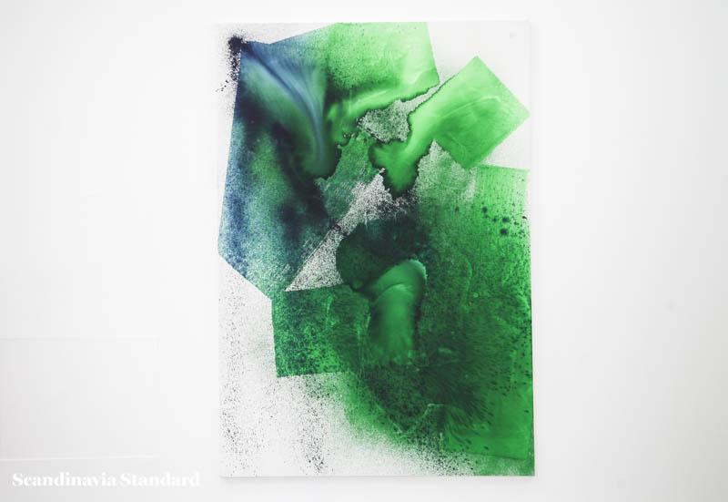Painter Max Frintrop at Andersen's Contemporary Gallery - Green   Scandinavia Standard