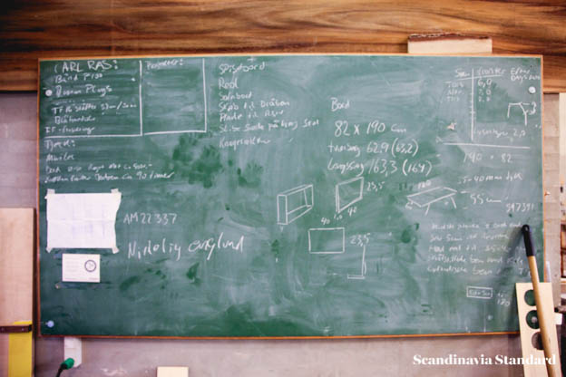 Plain Craft Søren Ulrich's workshop Blackboard | Scandinavia Standard