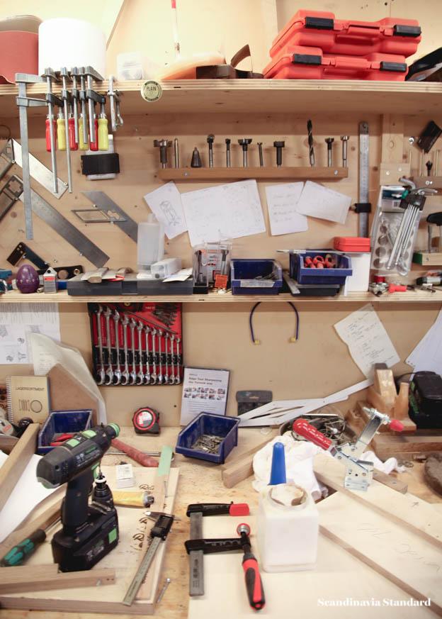 Plain Craft Søren Ulrich's workshop bench | Scandinavia Standard