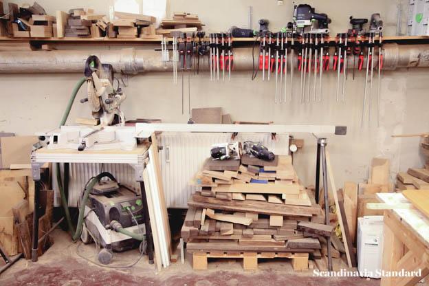 Plain Craft Søren Ulrich's workshop timber | Scandinavia Standard