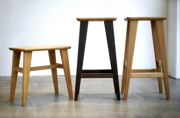 Plain Crafts Bar Stool | Scandinavia Standard