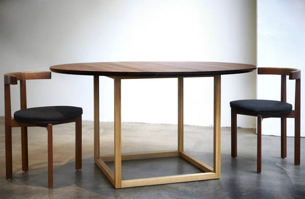 Plain Crafts Håndbygget rundt bord | Scandinavia Standard
