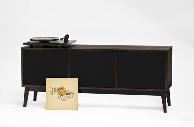 Plain Crafts Stereo Unit (smoked, Large) | Scandinavia Standard