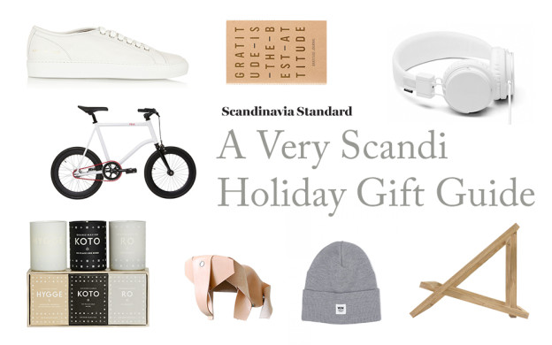A Very Scandi Holiday Gift Guide