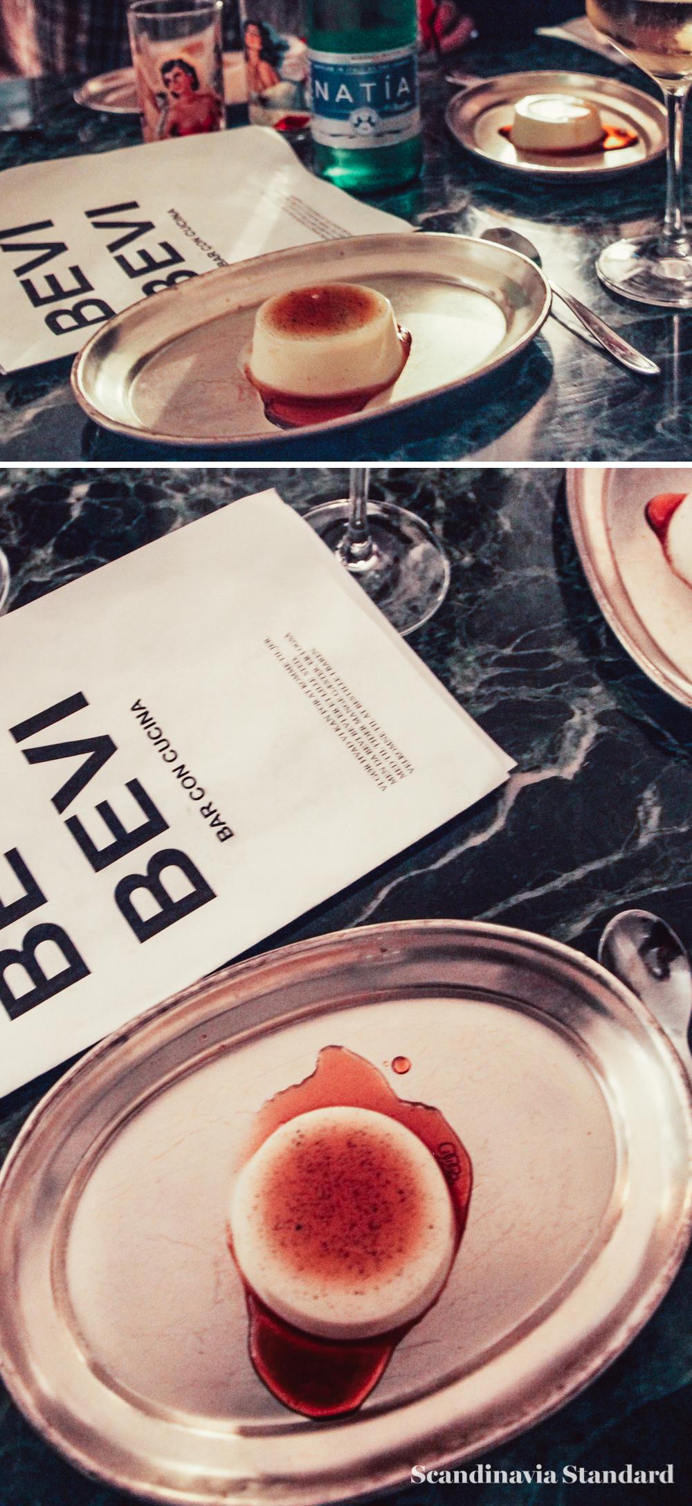 Bevi Bevi Desert panna cotta Copenhagen   Scandinavia Standard