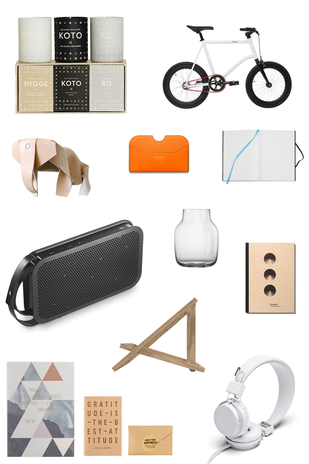 Design & Interiors Minimalist Gifts Collage | Scandinavia Standard