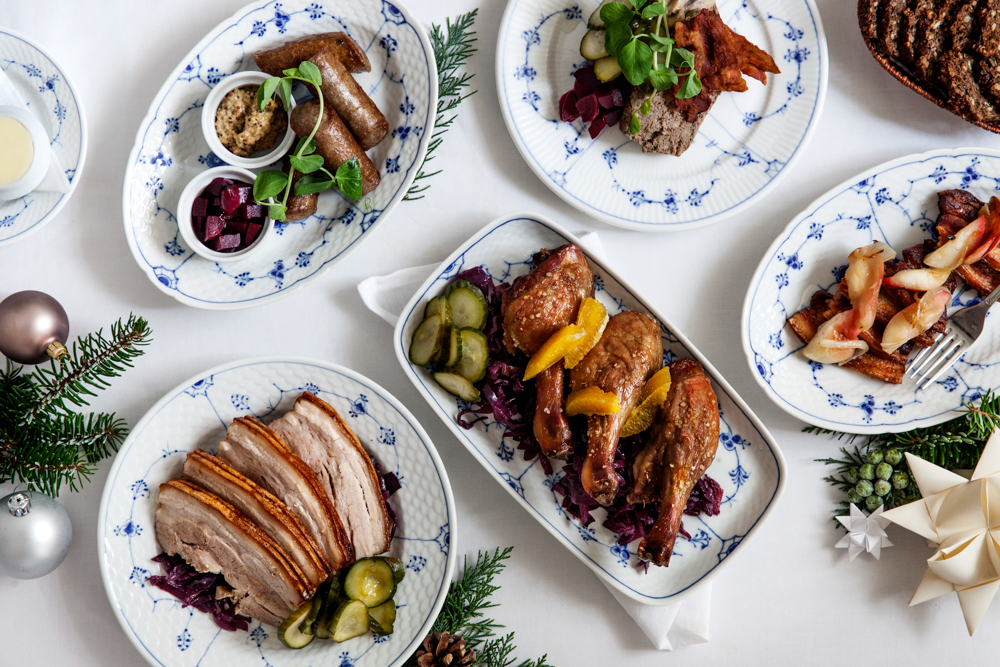 Danish Christmast Lunch Julefrokost - Main Course - Meat & Side Dishes | Scandinavia Standard