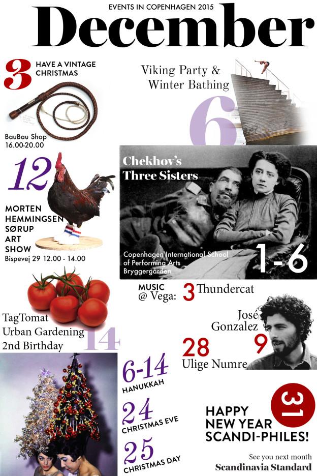 December Events Calendar - What's On Copenhagen | Scandinavia Standard