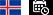Icelandic Flag Day Public Holiday Icon