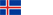 Icelandic Flag Icon Small