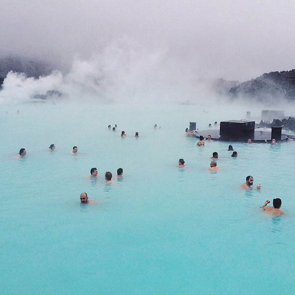 The Blue Lagoon | @bluelagoonis | Icelandic Instagram account to Follow | Scandinavia Standard