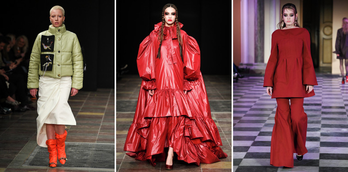 RED - FREYA DALSJO NICHOLAS NYBRO MARK TAN - Copenhagen Fashion Week Trend Report Scandinavia Standard