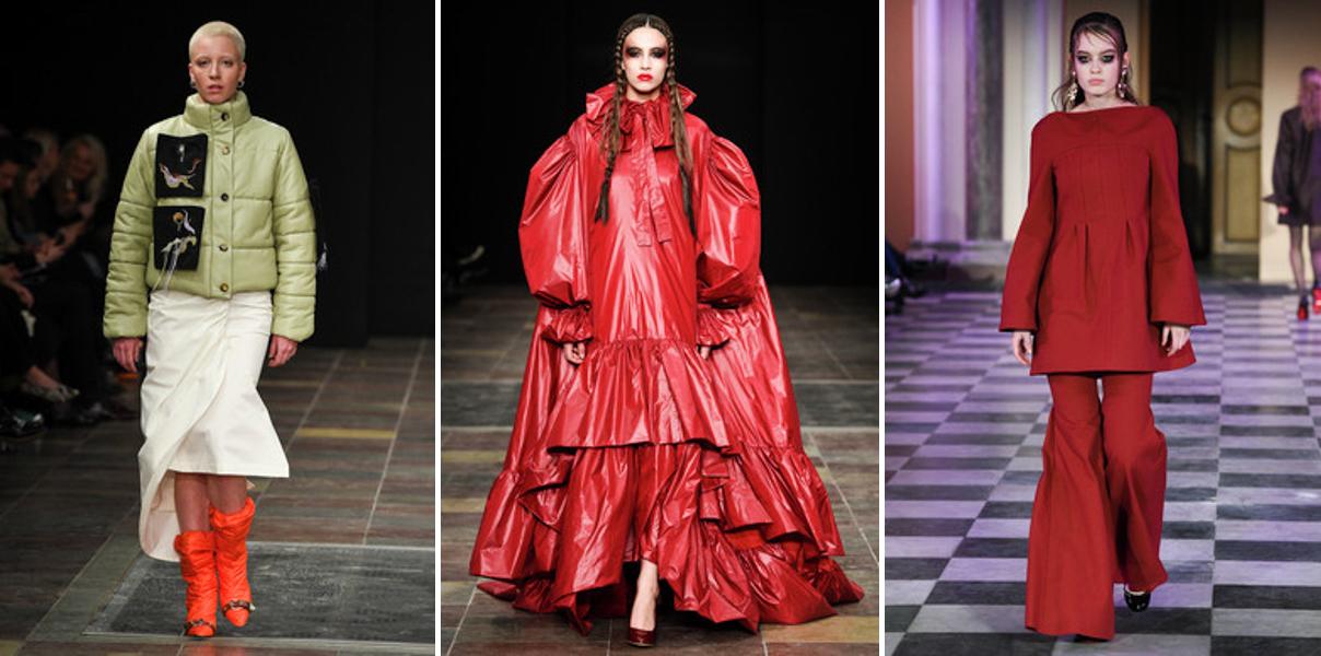 RED - FREYA DALSJO NICHOLAS NYBRO MARK TAN - Copenhagen Fashion Week Trend Report Scandinavia Standard