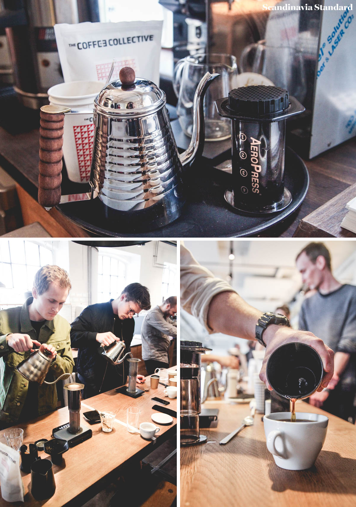 Aeropress Championship Collage | Coffee Collective | Scandinavia Standard