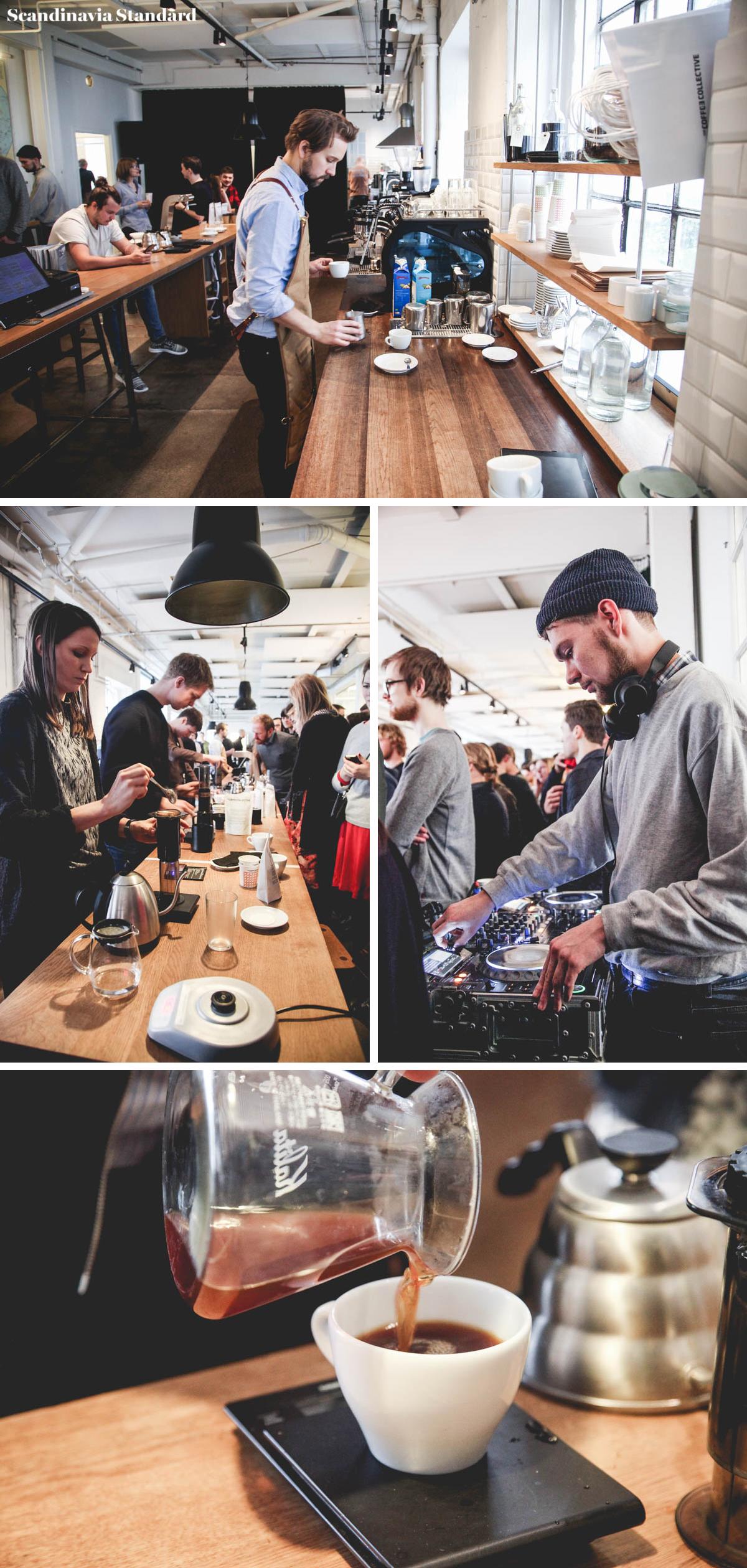 Aeropress Championship Collage Copenhagen | Coffee Collective | Scandinavia Standard