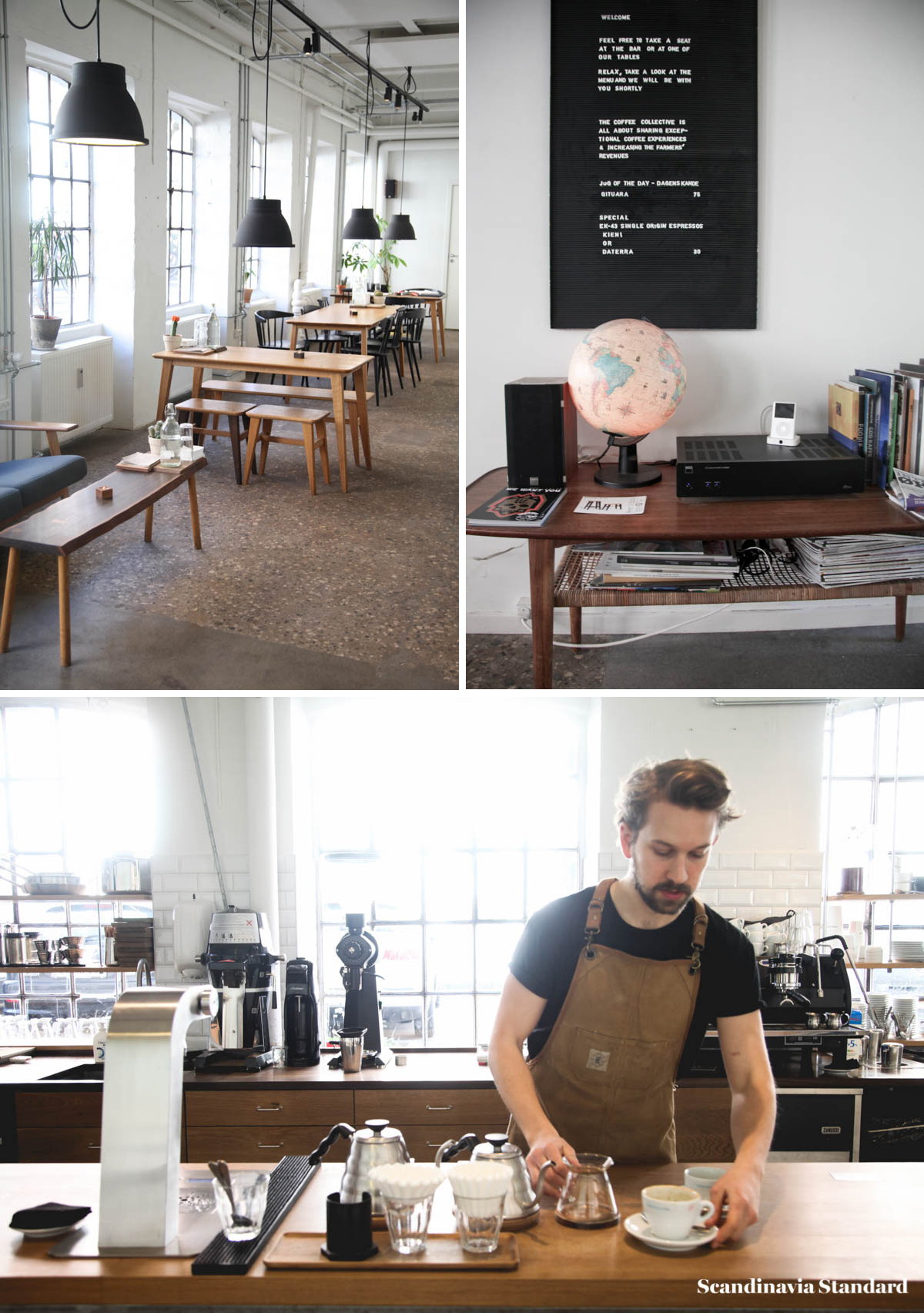 Best Coffee Shops - Coffee Collective Collage | Scandinavia Standard