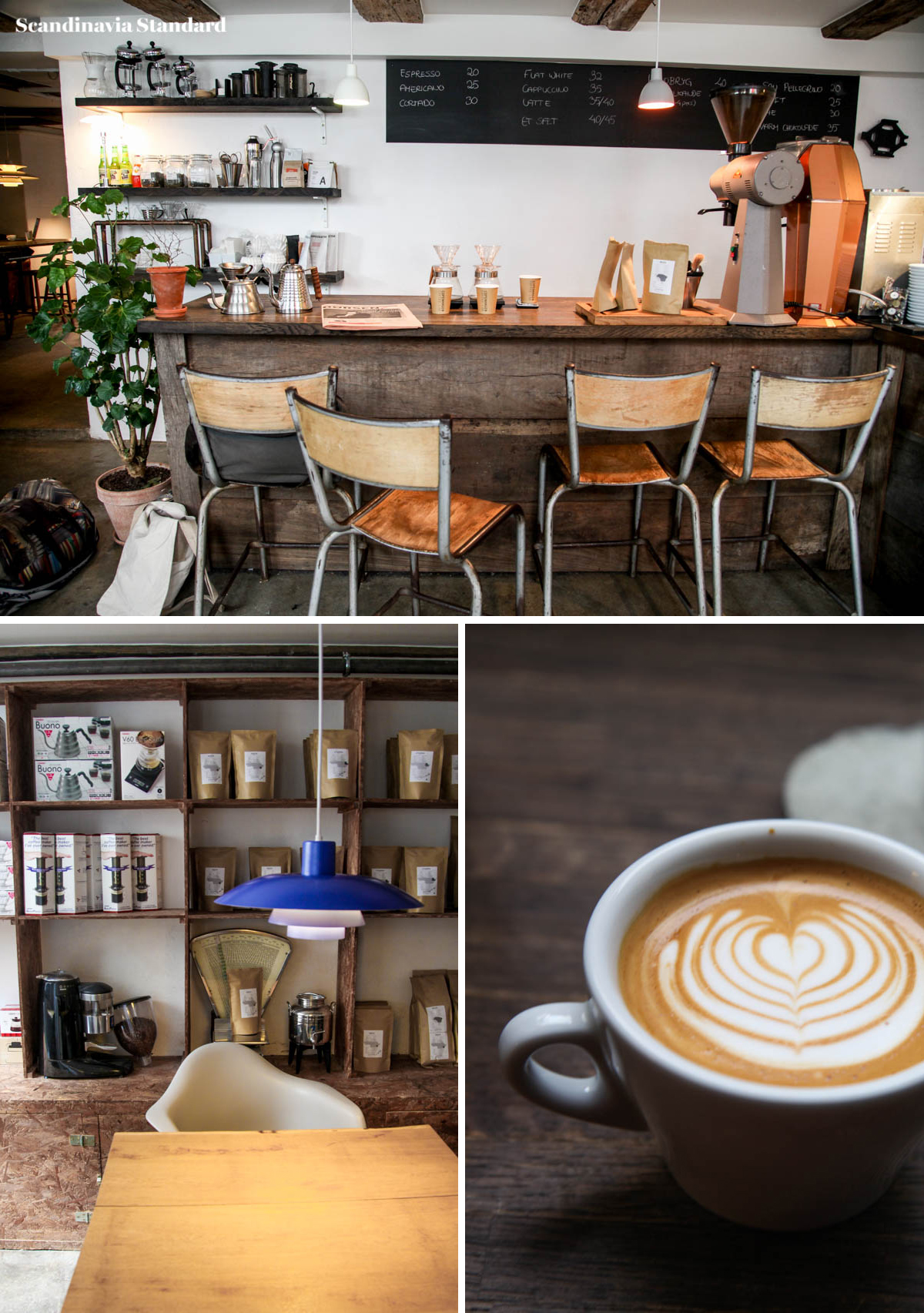 Best Coffee Shops - Copenahgen Coffee Lab Collage | Scandinavia Standard